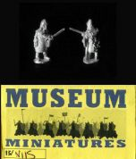 Museum Miniatures 15mm Dark Ages NI 15 Viking Chieftain with Sword (x 8)
